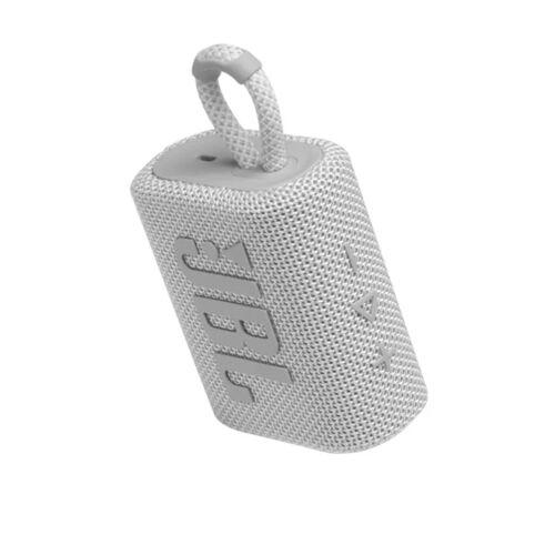 JBL GO 3 weiss Ultraportabler Bluetooth Lautsprecher IPX67