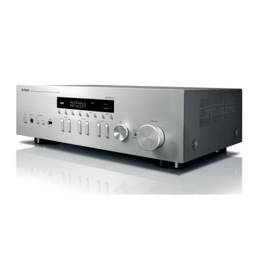 Yamaha R-N402 D HiFi Netzwerk Receiver mit DAB silber