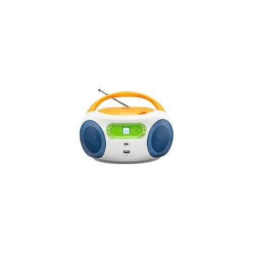 OK. ORC 512 Tragbares Radio, Bunt