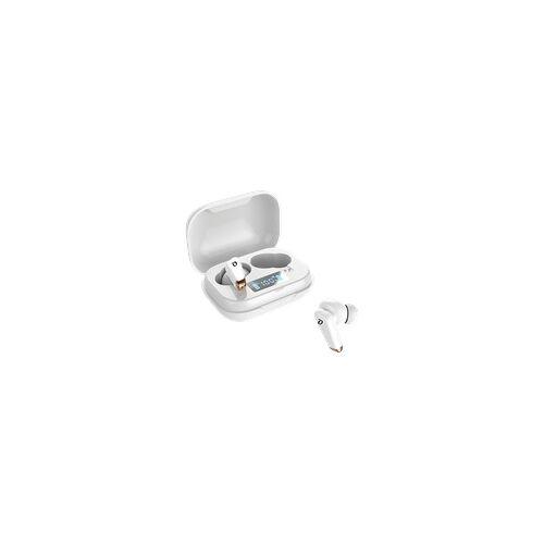 CORN TECHNOLOGY TWS-BT-V5 , In-ear Kopfhörer Bluetooth Weiß