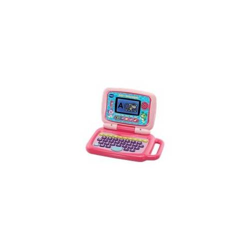 VTECH 2-in-1 Touch-Laptop pink Lernlaptop, Mehrfarbig