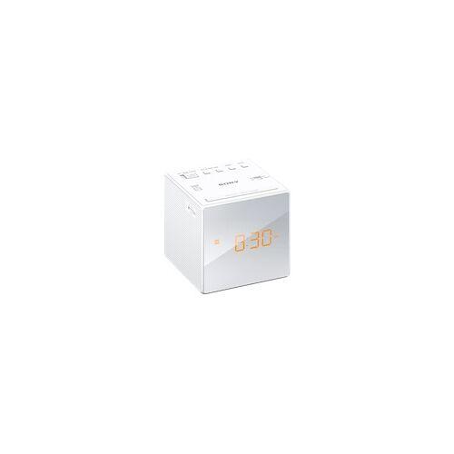 Sony ICF-C1 Radio-Uhr, Analog Tuner, Weiß