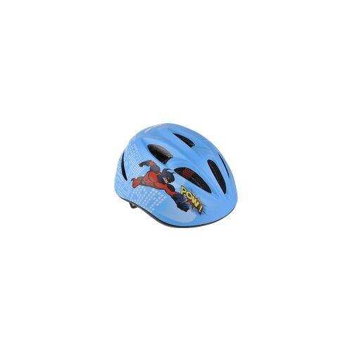 FISCHER 86115 FAHRRADHELM KINDER COMIC S/M (Fahrradhelm, 55-59 cm, Blau)