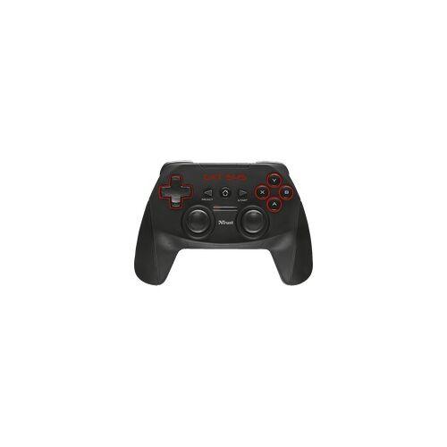 Trust GXT 545 Gamepad für PC und PS3 matt schwarz