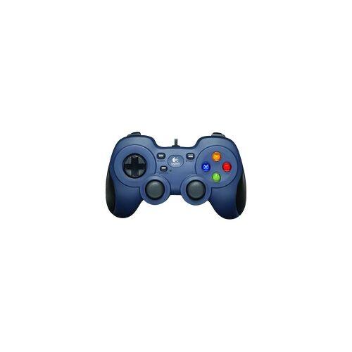 Logitech F310 Gamepad} Schwarz, blau