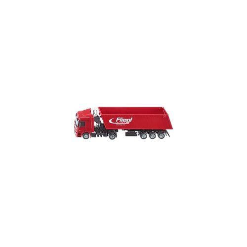 SIKU 3537 LKW mit Muldenkipper Rot