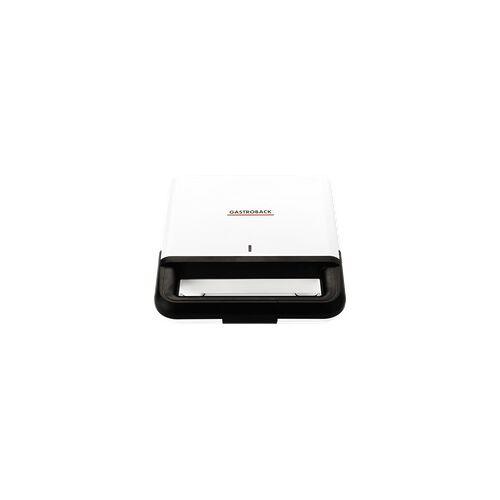 GASTROBACK 42443 Design Sandwichmaker Weiß