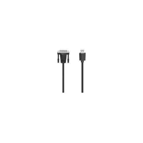 Hama DVI-Stecker auf HDMI-Stecker, Kabel, 1,5 m