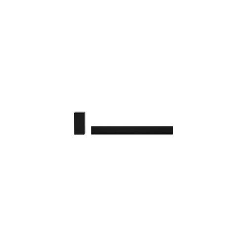LG DG1, Soundbar, Soundbar: Black, Subwoofer: Dark Silver