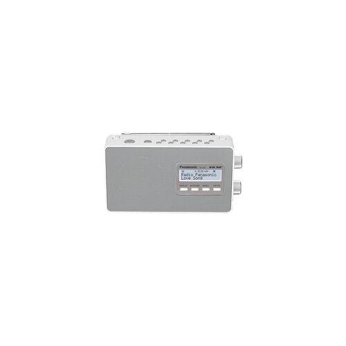 Panasonic RF-D10 EG-W DAB+ Radio, Tuner/ Analog Tuner, DAB, Weiß