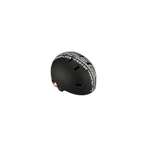 FISCHER 86716 Fahrradhelm BMX Track (Fahrradhelm, Schwarz)