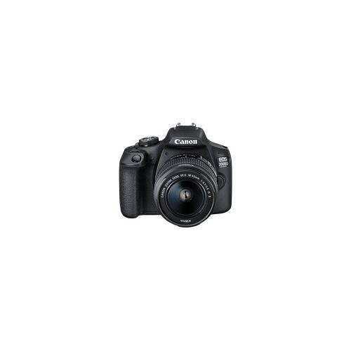 Canon EOS 2000D Kit Spiegelreflexkamera, Full HD, 18-55 mm Objektiv (EF-S, IS II), WLAN, Schwarz