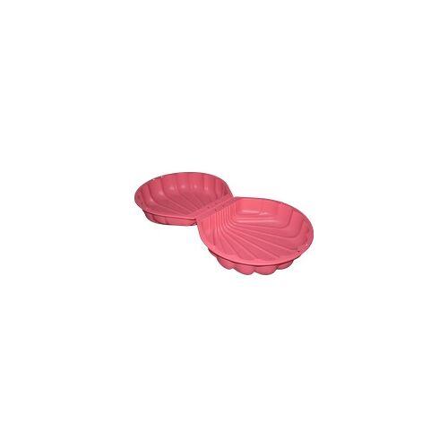 BIG SAND- UND WASSERMUSCHEL Sandkasten Pink