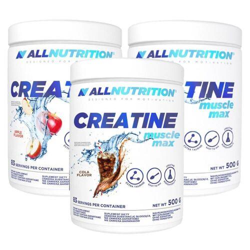 Allnutrition Creatin 500g Pulver Apfel mit Taurin