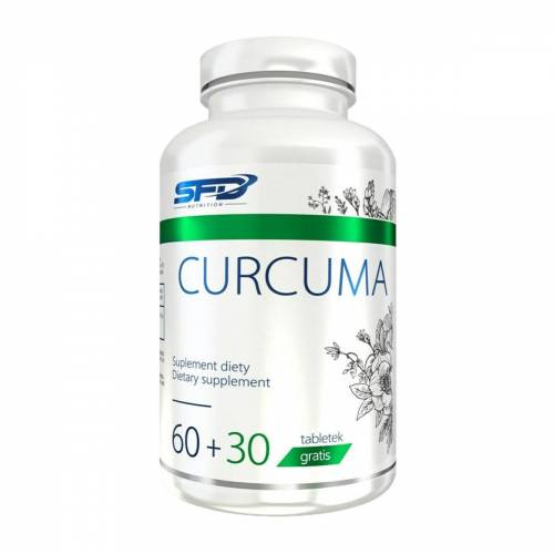 SFD S.A. SFD Kurkuma 90 Tabletten