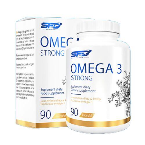 SFD S.A. SFD Omega 3 Strong 90 Kapseln extra hochdosiert + Vitamin E
