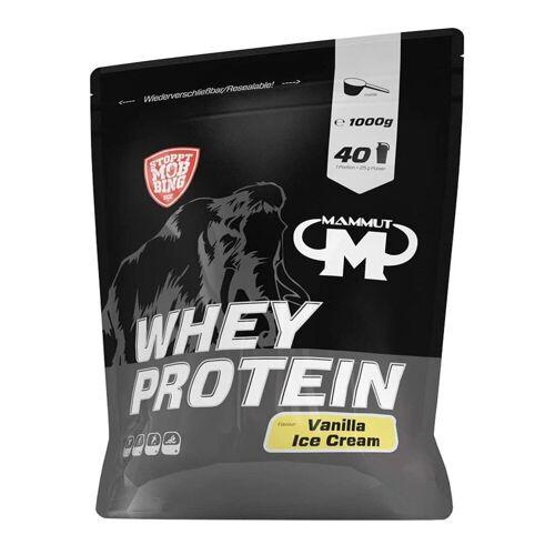 Mammut Whey Protein 1000g Vanille Eiscreme