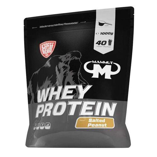 Mammut Whey Protein 1000g Gesalzene Erdnuss