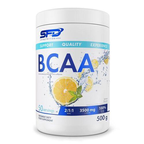 SFD S.A. SFD BCAA Pulver 500g 2:1:1 Zitrone