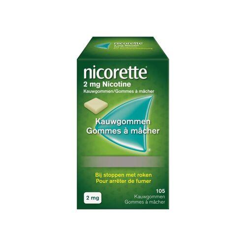 Nicorette 2 mg Natur Kaugummi