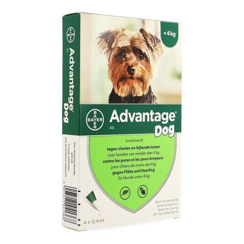 Advantage 40 Hunde <4kg Spot-on