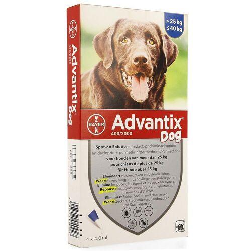 Advantix 400/2000 Hunde 25-40kg Spot-on