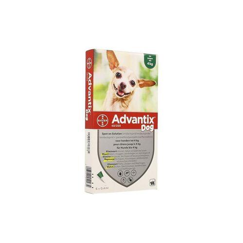 Advantix 40/200 Hunde <4kg Spot-on