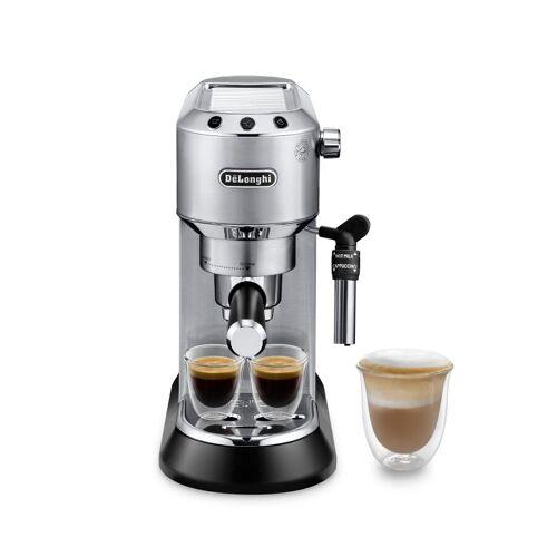 Delonghi De'Longhi ECKG6821.M Siebträgermaschine und elektrische Kaffeemühle