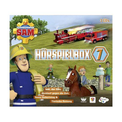 JUSTBRIDGE Feuerwehrmann Sam Feuerwehrmann Sam Hörspielbox 7 (3 CDs)
