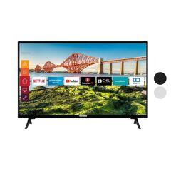 TELEFUNKEN XH24J501V 24 Zoll Fernseher (Smart TV inkl. Prime Video / Netflix, HD ready, 12 Volt, Triple Tuner)