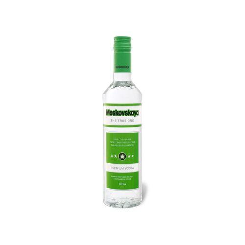 - Moskovskaya Russischer Wodka 38% Vol