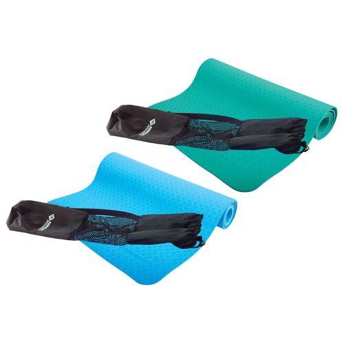 Schildkröt Fitness Yogamatte, 4 mm, Tragetasche mit Tragegurt und Kordelzug