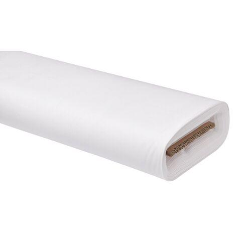 VBS Stoff »Uni«, 147 cm breit, Weiß, Meterware