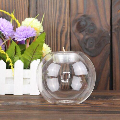 Gotui Kerzenständer, Klassischer Glaskerzenhalter Hochzeit Bar Party Home Decor Tragbarer Kerzenhalter