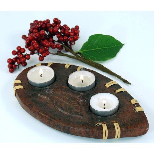 Guru-Shop Windlicht »Kerzenhalter, Teelichthalter Keramik Nr.9«