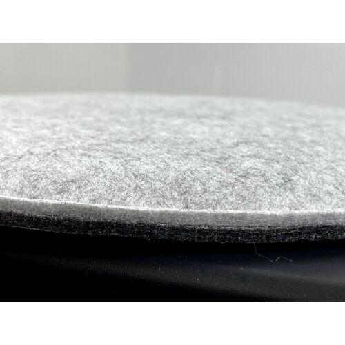 7even Auflagekissen »Filz Auflage oval 35,5x39cm«