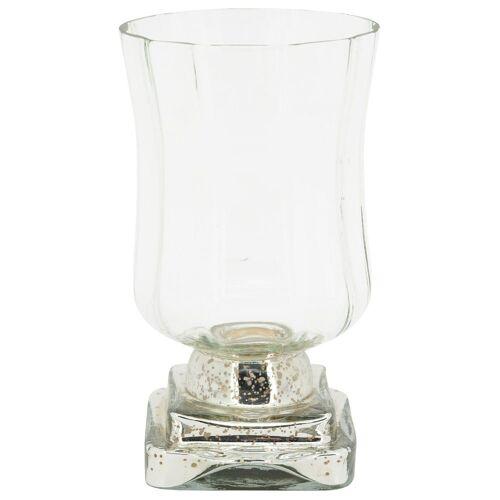matches21 HOME & HOBBY Kerzenständer »Kerzenglas verspiegelt Kerzenhalter«