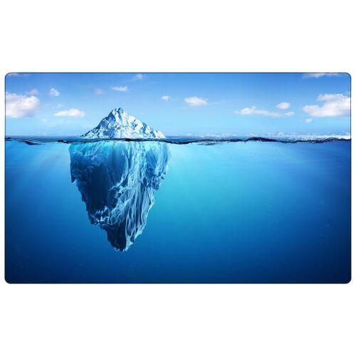 DesFoli Wandtattoo »Eisberg Meer Spiegelung R1344« 110 cm x 70 cm;150 cm x 98 cm;173 cm x 113 cm;60 cm x 38 cm;90 cm x 58 cm