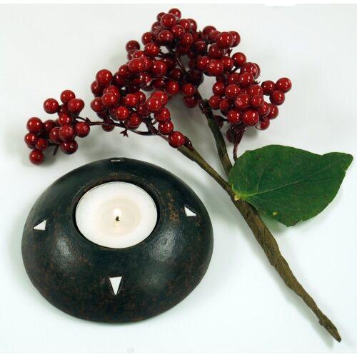 Guru-Shop Windlicht »Kerzenhalter, Teelichthalter Keramik Nr.11«