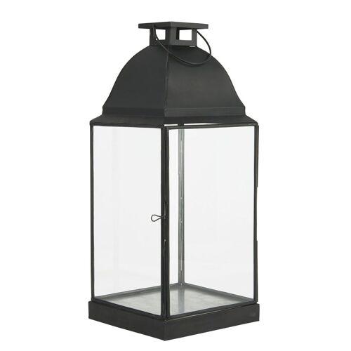 Ib Laursen Kerzenhalter »Laterne Windlicht Kerzenhalter H 49cm Metall Glas 0853-25«