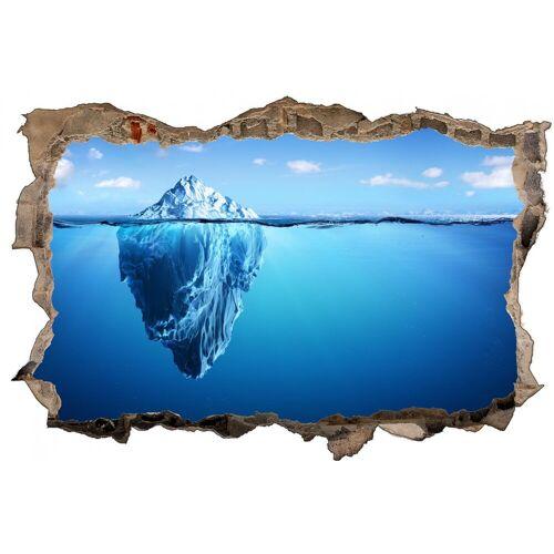 DesFoli Wandtattoo »Eisberg Meer Spiegelung D1344« 110 cm x 70 cm;150 cm x 98 cm;173 cm x 113 cm;60 cm x 38 cm;90 cm x 58 cm