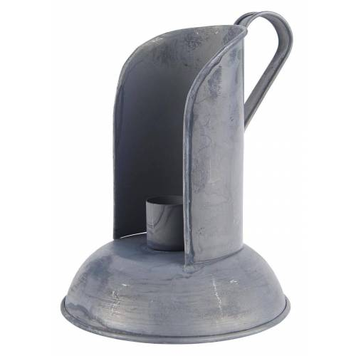 Ib Laursen Kerzenhalter »Kerzenhalter mit Windschutz Grau«
