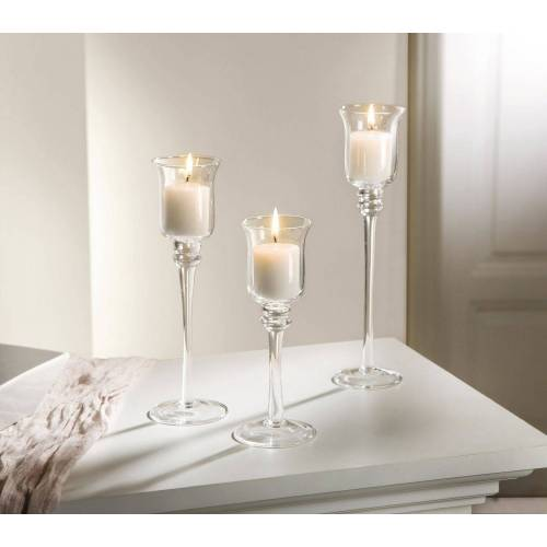 HomeLiving Kerzenhalter »Glas-Kerzenhalter«