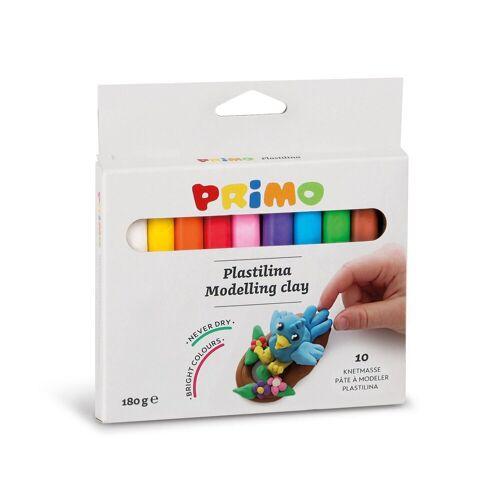 Primo Knete »Knetmasse in Stangen, 10 Farben«