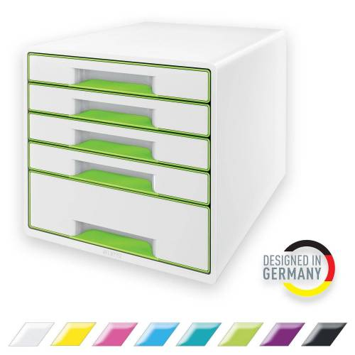 LEITZ Schubladenbox »WOW«, CUBE mit 5 Schubladen