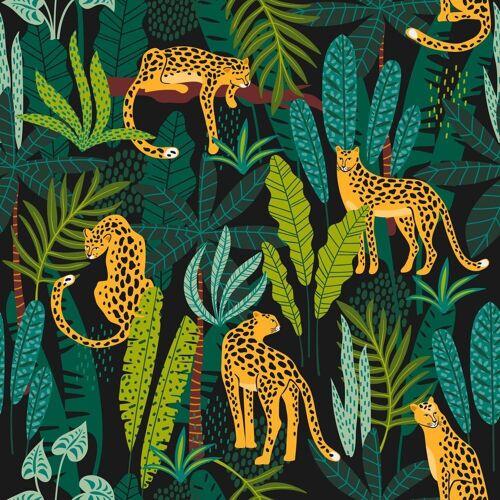 Paper+Design Papierserviette »Leoparden«, (5 St), 33 cm x 33 cm