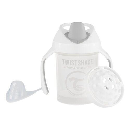 Twistshake Babyflasche »Mini Cup Babyflasche, 230ml, pink«, weiß
