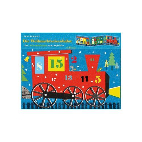 arsEdition Verlag Wandkalender »Die Weihnachtseisenbahn, Adventskalender«