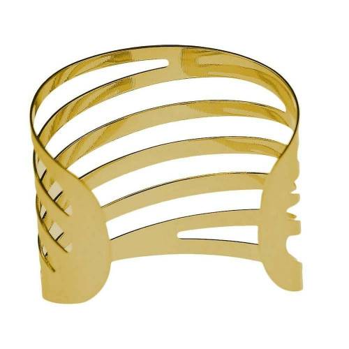 Masbekte Serviettenring, (1-tlg), 1 / 12 Serviettenringe Set, Esszimmer, Formal Dekoration, Metall, Tisch Serviettenhalter, Gold