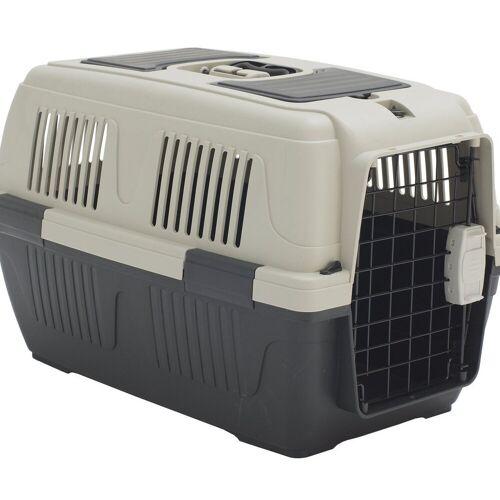 Dehner Tiertransportbox »Transportbox Dino für Hund/Katze, 63 x 41 x 40 cm«